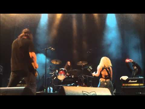 Nashville Pussy - Go Motherfucker Go sylak Open Air Le 10 Aout 2013 video