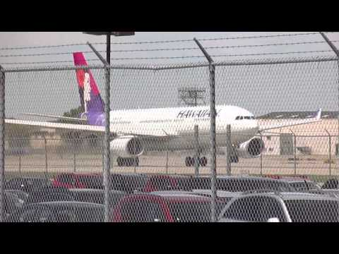 Hawaiian Airlines [N381HA] A330-243 *RARE* Minneapolis Intl' Airport Take-Off