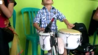 Anak Kecil Jago Gendang Banjarnegara
