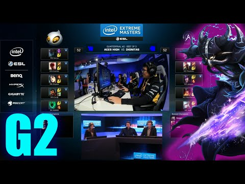 Dignitas vs Aces High eSports Club | Game 2 Quarter Finals IEM Cologne LOL 2014 | DIG vs AHES G2