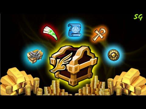 Arcane Legends: Opening 100 Gold Elite Runner Chest