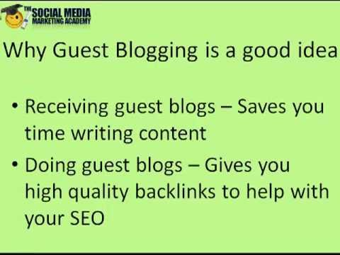 Where to find Guest Bloggers and be a Guest Blogger - My top 6 options