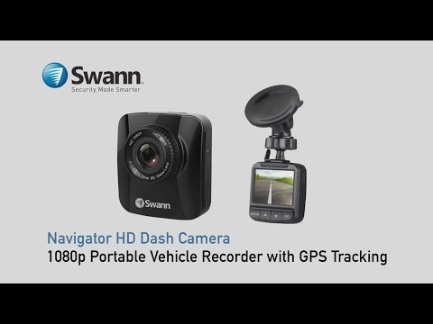Navigator HD Dash Camera - 1080p Portable Vehicle Recorder with GPS Tracking - sample footage