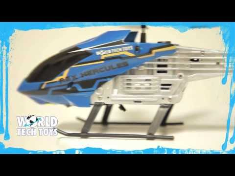 World Tech Toys Introduces the Rex Hercules UNBREAKABLE 2CH RC Helicopter
