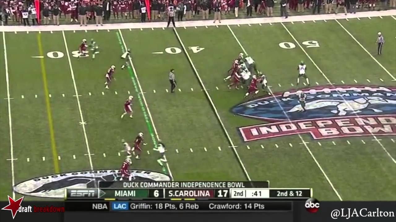 Ereck Flowers vs South Carolina (2014)