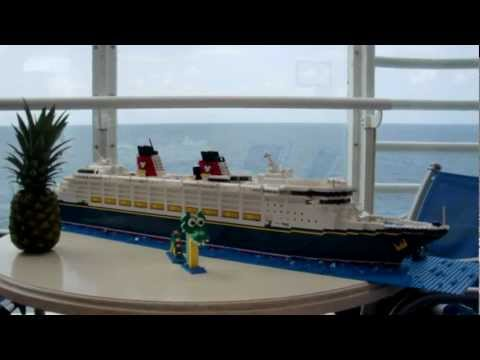 Lego Disney Wonder Cruise Ship