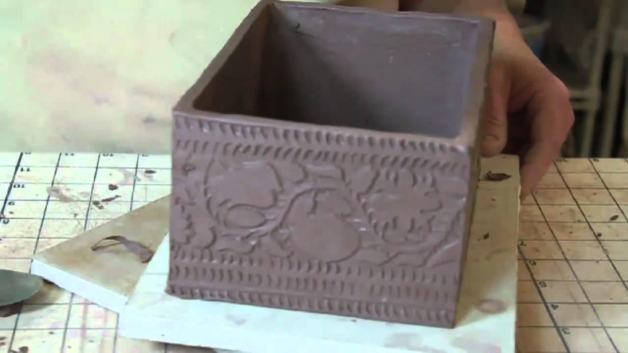 Bridges Pottery Slab Construction Demo Youtube