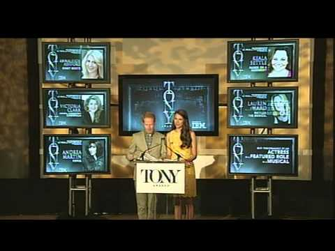 2013 Tony Awards Nominations Announcement