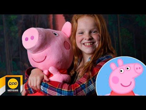 Peppa Pig Y La Niña Que Está Detrás De Su Personaje │rpp video