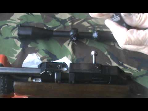 AIR GUN THEOBEN RAPID 7 R7 RIFLE SCOPE MOUNTS MOUNTING SYSTEM