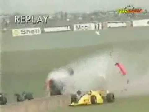 Allan McNish F3000 Crash