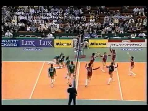 Volleyball - Russia vs Japan 1996 World Grand Prix Sendai Part3/6