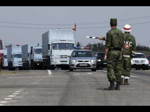 Russia Sends Hundreds Of Trucks To Ukrainian Border