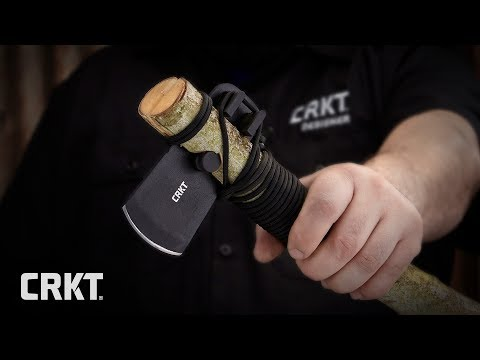 Persevere Survival Axe Assembly Instructions with CRKT Designer Chuck Cook