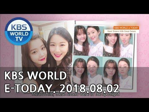KBS WORLD e-TODAY [ENG/2018.08.02]