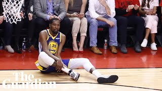 Kevin Durant injury leaves Warriors GM holding back tears despite Game 5 win