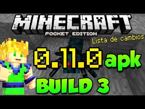 Nuevos Spawners - Minecraft Pocket Edition 0.11.0 - Build 3 - Lista de Cambios - Descarga