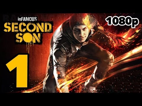 inFAMOUS: Second Son Walkthrough PART 1 + GIVEAWAY [1080p] No Commentary TRUE-HD QUALITY