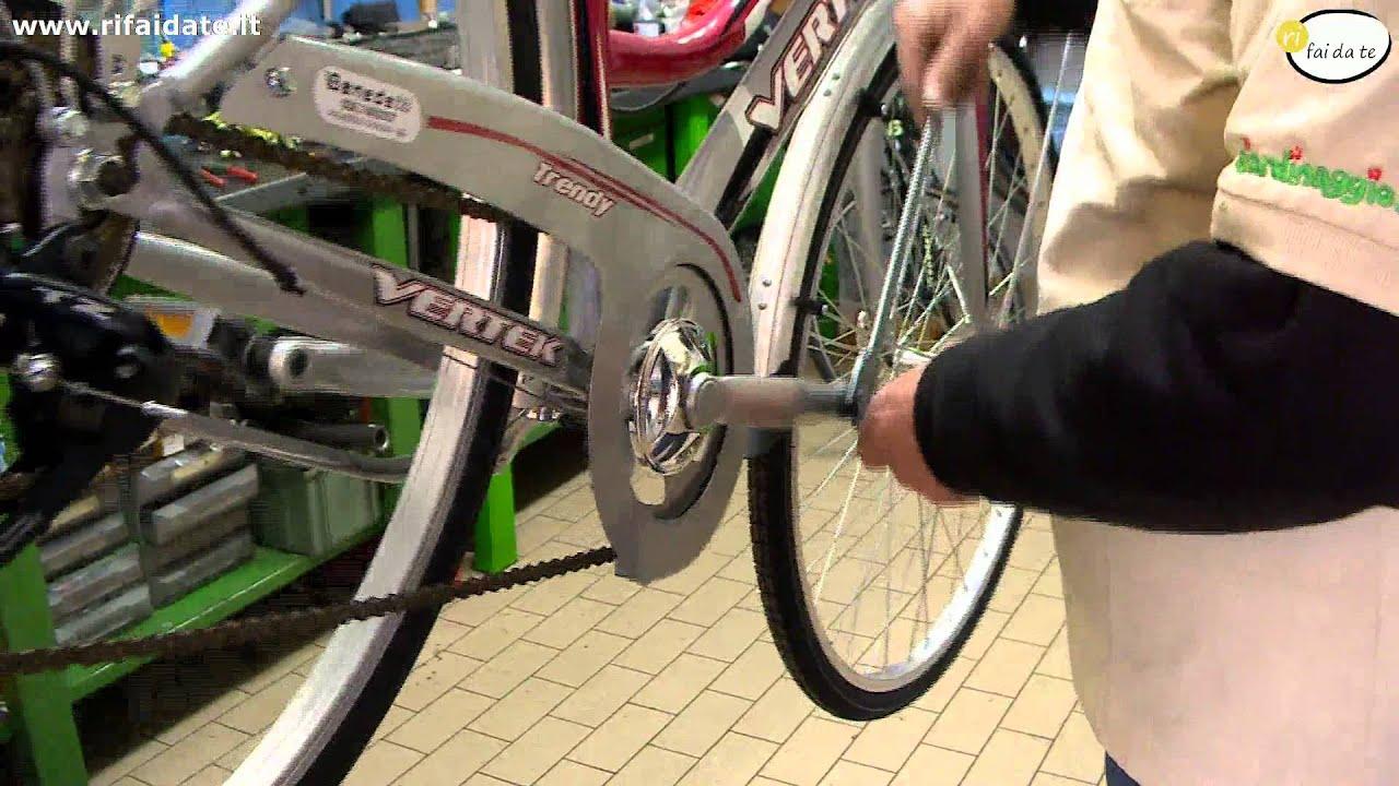 Come smontare i pedali bici da corsa
