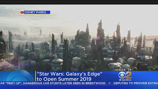 'Star Wars: Galaxy's Edge' To Open At Disneyland Next Summer