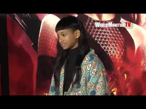Willow Smith, Jaden Smith arrive at 'The Hunger Games  Catching Fire' LA Premiere