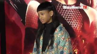 Willow Smith, Jaden Smith arrive at