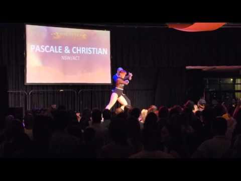 2016 Sydney International Bachata Festival - Pascale and Christian