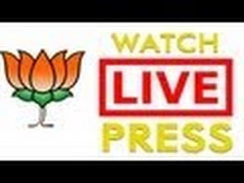 LIVE :: BJP Press conference by Smt. Sushma Swaraj & Shri Arun Jaitley