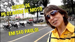 Curso de Pilotagem de Moto em São Paulo