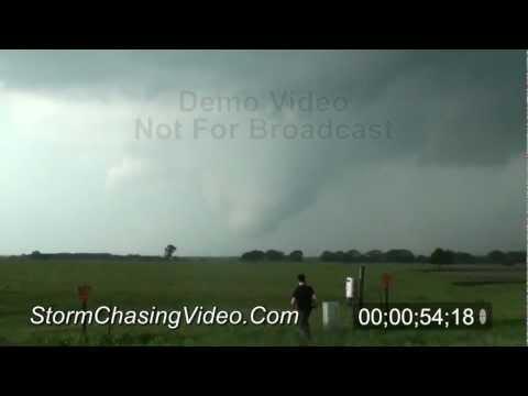 4/26/2011 Ellis County Texas Tornado B-Roll Footage
