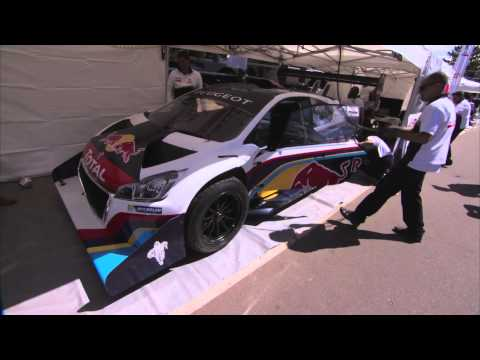Sébastien Loeb And The Peugeot 208 T16 Pikes Peak Set New Record