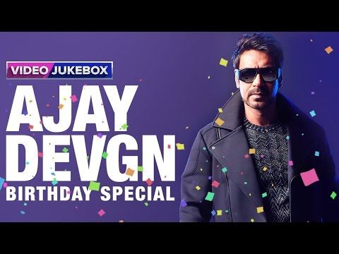 Ajay Devgn | Birthday Special | Video Jukebox
