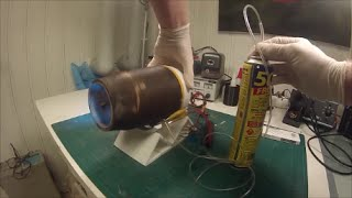 Running and disassembly of 3D printed jet engine