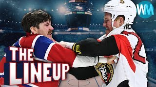 Top 10 Most Intimidating Tough Guys in NHL History - The Lineup Ep. 12!
