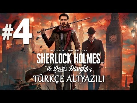 CİNAYETİN SIRRI | Sherlock Holmes The Devil's Daughter Türkçe Altyazılı Bölüm 4