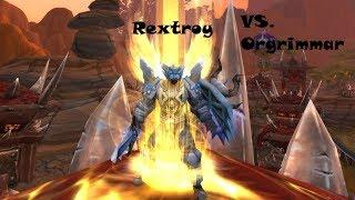 Raid Boss Paladin VS Orgrimmar