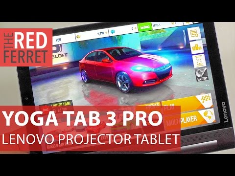 Lenovo Yoga Tab 3  Pro - lovely tablet with projector & 18 hours battery [Review]
