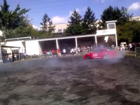 Drift e Burnout em evento