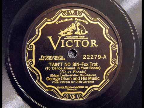 George Olsen - Taint No Sin
