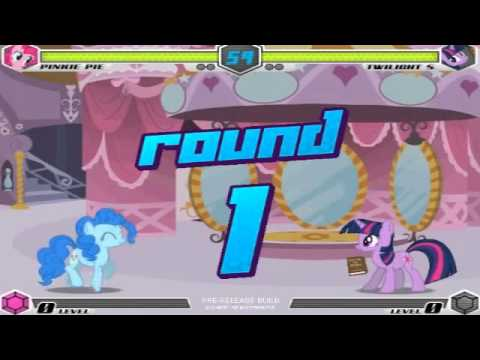 My Little Pony: Fighting is Magic - Eu x Thiago -  Apanhei Feio