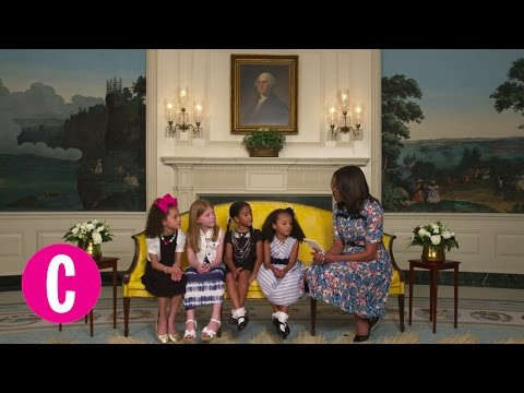 Little Girls Give Advice to First Lady Michelle Obama | Cosmopolitan