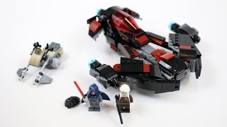 LEGO Star Wars Eclipse Fighter (Timelapse & Review) - Set 75145