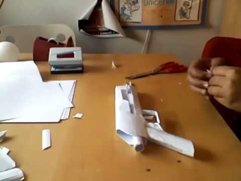 Como hacer un ak47 de papel parte 1 youtube - Como construir un tejado ...