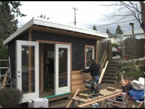 Backyard Works Backyard Studio Build Dv Youtube