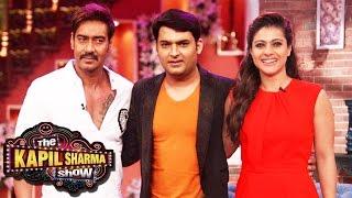 SHIVAAY Special Episode The Kapil Sharma Show Ajay Devgn Kajol