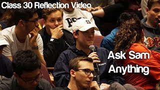 """Ask Sam Anything"" #Soc119"