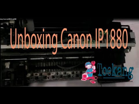 Uncovering Canon ip1980 & ip1880