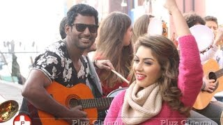 Ambala Movie  'Aye Aye' Video Promo Song Released - Vishal | Sundar C | Hansika | Ambala