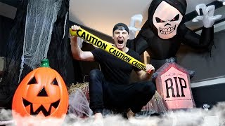 INSANE HAUNTED HOUSE PRANK!! (HALLOWEEN PRANK WARS) + Learn How To Make Easy DIY Pranks