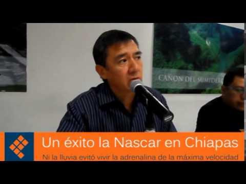 Con éxito se realizó la carrera Nascar en la capital de Chiapas